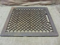 Vintage Cast Iron Register Grate > Antique Old Hardware Architectural 6959