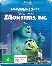 Monsters, Inc. (Blu-ray, 2013, 2-Disc Set)