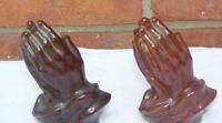 Praying Hands Japan Vintage Figural Salt and Pepper Shakers