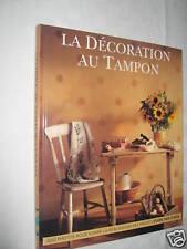LA DECORATION AU TAMPON éditions MANISE