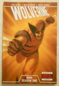 Wolverine Season One HC Hardcover TPB Graphic Novel Marvel Comics