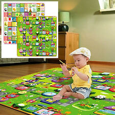 Baby Kids Toddler Crawl Play Game Picnic Mat Alphabet Printing Carpet Exquisite