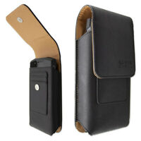 caseroxx Outdoor Case for Doogee S90 in black made of real leather