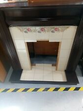 Vintage Tiled Fire Surround