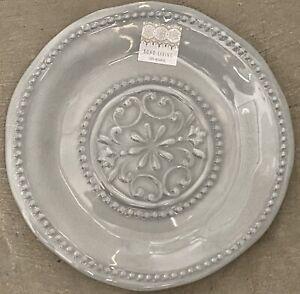Boho Living Grey Medallion MELAMINE Side Plates Set Of 4
