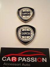 stemma LANCIA DELTA montante porta laterale badge emblem logo emblem coppia
