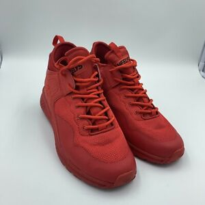 HEELYS Red Lace Up High Top Skating Shoes Youth Size 6