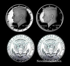 2020 P+D+S+S Kennedy Half Dollar ~ Silver and Clad Mint Proof Set ~ PD Mint Roll