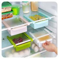 Plastic Storage Containers Food Organizer Drawer for Refrigerator Fridge Desk