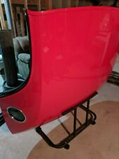 2002-2005 Ford Thunderbird Red Hardtop Like New Port Hole w/ Stand & Cover