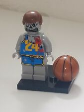 LEGO ZOMBIE BASKETBALL PLAYER WITH BALL