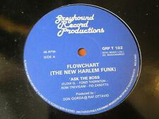 "FLOWCHART (The New Harlem Funk) Ask The Boss BOOGIE 12"" HEAR Greyhound UK"