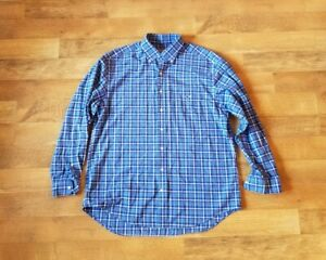 vineyard vines TUCKER SHIRT size large brushed cotton button down shirt GREAT!