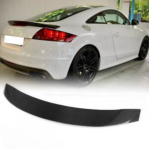 Carbon Fiber Rear Boot Trunk Spoiler Wing Lip for Audi TT TTS Sline Mk2 8J Coupe