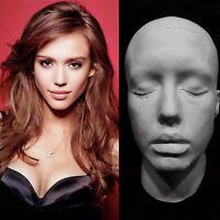 "Jessica Alba Life Mask Cast""Sin City""Honey""Into The Blue""Great Detail Very Rare!"