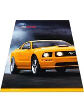 2007 Ford Mustang 24-page Sales Car Brochure Catalog GT Shelby GT500 Convertible