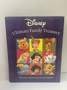 Disney Ultimate Family Treasury. Hardback Book.