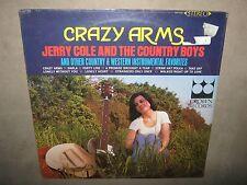 JERRY COLE Country Boys Crazy Arms RARE SEALED New Vinyl LP 1966 CST-518 NoCut