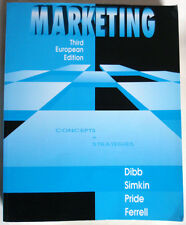 MARKETING - CONCEPTS & STRATEGIES - DIBB, SIMKIN, PRIDE, FERRELL - USED