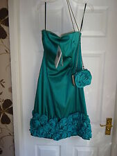 LADIES SOIREE COAST DRESS AND MATCHING BAG 10/12