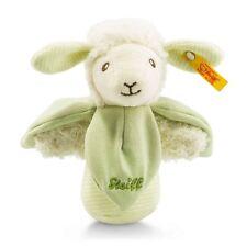 Steiff Baby Bio Baumwolle Lamm Lenny Greifling 14cm mit Rassel Geschenk 237980