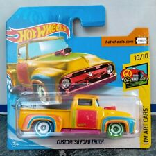 hot wheels treasure hunt custom 56 ford truck new short card