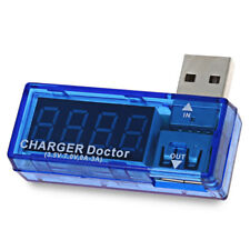 USB Power Current Voltage Detector Tester Digital Translucent Charger Doctor New