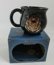 Harry Potter Cauldron Ceramic Black Mug Cup Hogwarts Crest New In BOX  ~ Primark