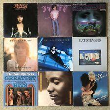 Rock Pop Lp Lot x18 Paul McCartney Wings Elton John Belinda Carlisle & More