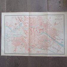 CARTE GEOGRAPHIQUE ANCIENNE 1875 PLAN DE VILLE BERLIN ALLEMAGNE