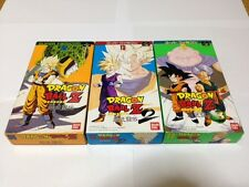 Lot 3 DRAGON BALL Z Super Butouden 1 2 3 With Box Japan Super Famicom
