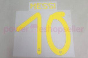 Barcelona 2013 #10 MESSI Gamper Trophy Homekit Nameset Printing