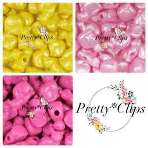 4 For 3 Cat Pony Beads 6x 23mm Craft