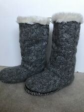 Aeropostale Cape Juby Slouchy Slipper Boots Large winter fall