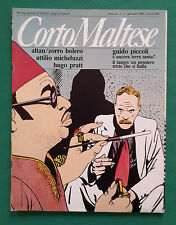 CORTO MALTESE N.1 ANNO 1986 IL TANGO UN PENSIERO TRISTE CHE SI BALLA