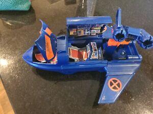 Vintage X-Men Blackbird Mobile Command Jet Playset Marvel Toybiz 1994 Plane