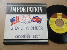 "DISQUE 45T DE STEVIE WONDER  "" ANOTHER STAR """