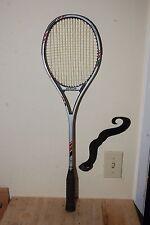 Vintage Dunlop Power Plus Graphite Composite Flex Tech Rating 5 Squash Racquet
