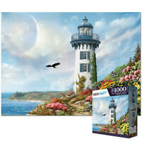 NEON PARTY 1000 Pieces Jigsaw Puzzles for Adults Kids-TOWER Education Learning
