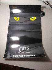 CATS 1981 Dewynters Plc London TM Window Card Poster