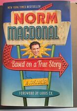 Based on a True Story by Norm MacDonald (2016, Hardcover) BRAND NEW