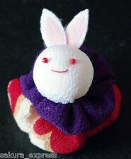 Japanese Kimono Fabric Beanbag Rabbit Hacky Sack Ornament Decor Plushie PlushToy