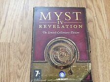 PC MAC DVD ROM MYST 4 REVELATION The Limited Collectors Edition