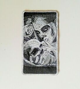 Hasta La Muerte Handmade Embroidered Patch