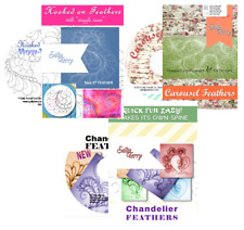 3 Machine Quilting Feather DVDs, Free Motion Feather Videos Beginner to Advanced