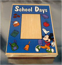 Disney School Days Frame A1986R - Wood Mounted Rubber Stamp