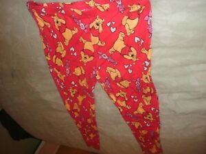 Disney Pooh Bear size Medium Thermal Pajama Pants (B133)