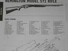 REMINGTON MODEL 572 RIFLE EXPLODED VIEW