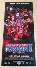 MOBILE SUIT GUNDAM ORIGIN 1 Locandina Originale 33x70 Poster Film Japan Anime