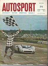Autosport July 8th 1966 * French Grand Prix & Reims F2 & Guiseppe Farina a tué *